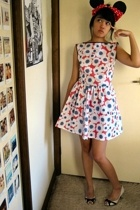 amourette dress - Sandler shoes