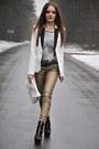 Gold-zara-jeans-white-h-m-jacket-violet-h-m-t-shirt