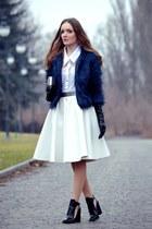 white Choies skirt