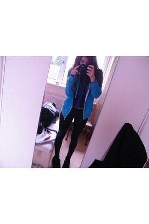 creepers shoes - next leggings - Criminal Damage hoodie