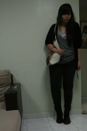 f21 jacket - Topshop top - Dorothy Perkins jeans - doc martens shoes