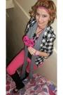 Pink-forever-21-shoes-pink-forever-21-pants-black-forever-21-shirt-black-f