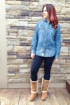blue Denim & Supply top - camel Ugg Australia boots