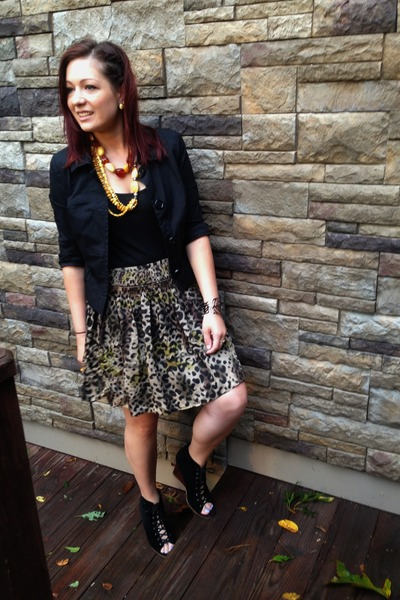 black INC skirt