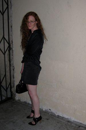 black J Crew skirt - black Belle by Sigerson Morrison shoes