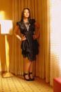 Black-forever21-dress