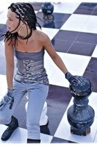 Bershka gloves - Bershka pants - Bershka t-shirt - Bershka belt