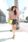 American-apparel-sweater-zara-heels