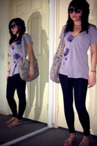 Urban Outfitters shirt - Aldo hat - Urban Outfitters purse - Nordstrom leggings