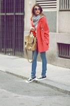 vintage blazer - H&M jeans - SU-SHI bag