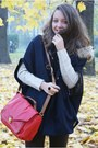 Brown-czas-na-buty-boots-navy-vj-style-coat-ivory-vero-moda-sweater