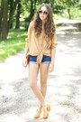 Gold-h-m-ring-orange-czas-na-buty-shoes-camel-romwe-shirt
