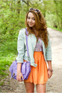 Camel-czasnabuty-shoes-light-blue-sinsay-jacket-violet-vj-style-bag