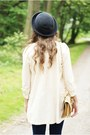 Beige-vj-style-shoes-charcoal-gray-romwe-hat-beige-romwe-jacket