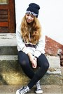 Black-new-yorker-hat-black-h-m-leggings-black-converse-sneakers