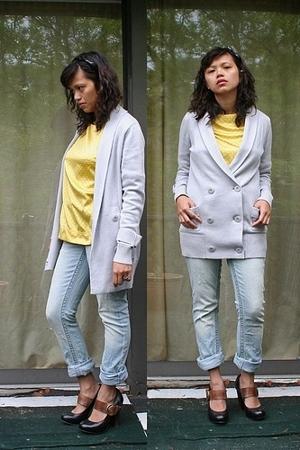Forever21 accessories - Target top - random brand DIY jeans - Banna Republic swe