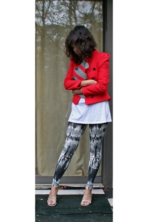31 phillip lim jacket - Gap t-shirt - Forever21 leggings - random brand from Nor