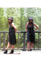 hat - Cheap Monday dress - Aldo shoes