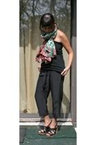 black American Apparel skirt - black Seychelles shoes