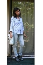 Target shirt - random brand jeans - lucky brnad accessories - Cynthia Vincent bo