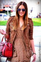 dark brown Mango jacket
