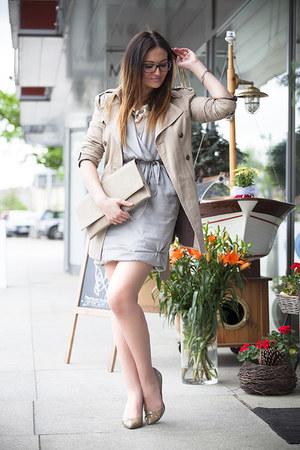 heather gray Solar dress