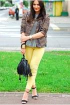 Zara jacket - Mango panties - Zara heels