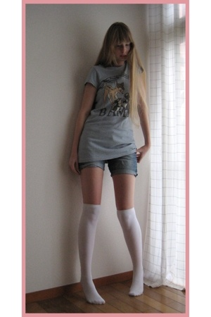 109 Shibuya t-shirt - Bershka shorts - Mikio Sakabe socks