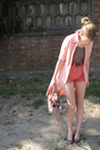 Light-pink-h-m-shirt-light-pink-miu-miu-bag-coral-american-apparel-shorts-