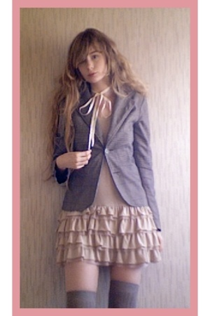 vintage blazer - catedrale dress
