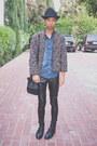 Black-florsheim-shoes-black-topman-hat-sky-blue-diesel-shirt