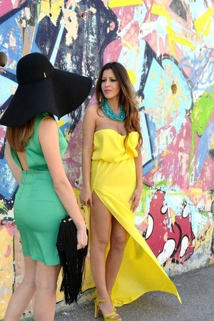 yellow Stefania silvestri dress