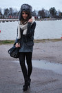 Dark-gray-zara-bag-ivory-zara-scarf-black-h-m-jacket-black-aleksi13-shoes
