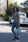 Chucks-shoes-f21-jeans-fred-seagal-shirt-balenciaga-purse