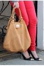 Charcoal-gray-zara-jacket-red-joes-jeans-jeans-bronze-foley-corrina-bag