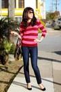 Navy-dl1961-jeans-maroon-jcrew-sweater-pour-la-victoire-bag