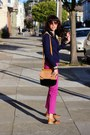 Navy-forever-21-sweater-tawny-steve-madden-shoes-bronze-pour-la-victoire-bag
