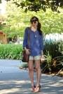 Brown-liz-claiborne-bag-cream-the-limited-shorts-brown-ralph-lauren-sandals