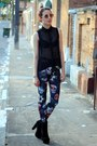 Black-oasap-boots-black-citizens-of-tomorrow-leggings-black-romwe-shirt