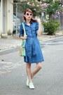 Blue-jeans-sheinside-dress-aquamarine-mart-of-china-bag