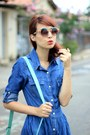Blue-jeans-sheinside-dress-aquamarine-mart-of-china-bag