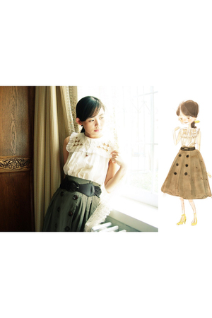 skirt - 31 blouse