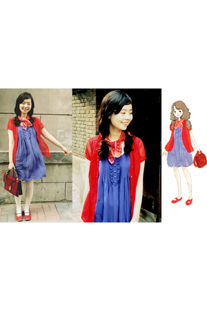 blouse - socks - topshhop dress