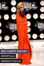 carrot orange EIU dress