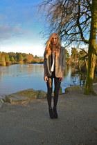 Sirens shoes - vintage blazer