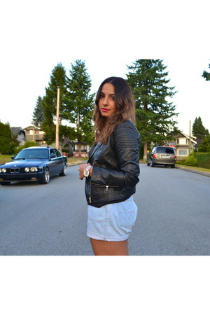 H&M jacket - Levis shorts