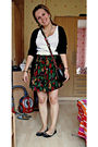 White-next-top-black-vero-moda-cardigan-black-mums-skirt-black-link-shoes-