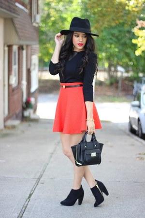 booties Target boots - H&M hat - mini satchel Phillip Lim for Target bag