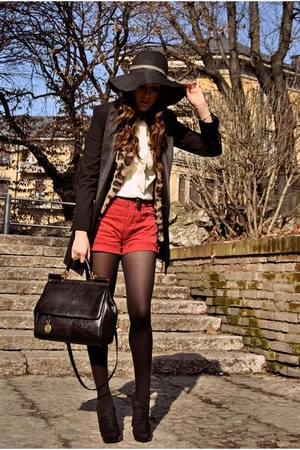 Prima Donna boots - Moschino blazer - MISS SICILY dolce &amp; gabbana bag - Levis sh