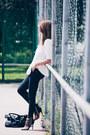 Black-refrigewear-jeans-white-zara-shirt-black-chloe-bag-black-lamb-heels